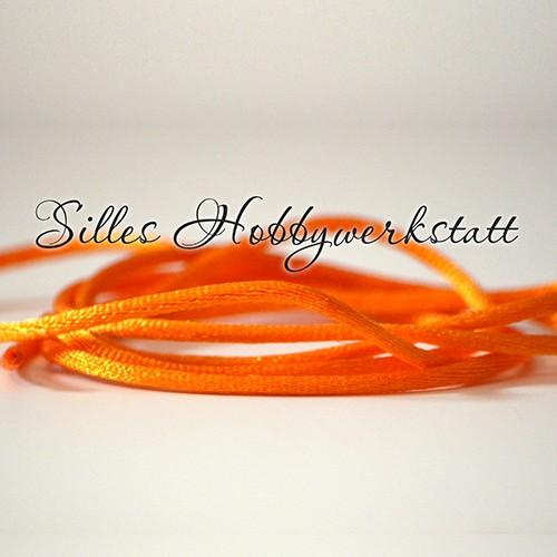 Satinkordel Orange