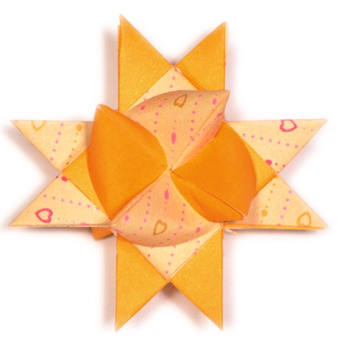 10 mm Faltstreifen Lovepearls Gelb