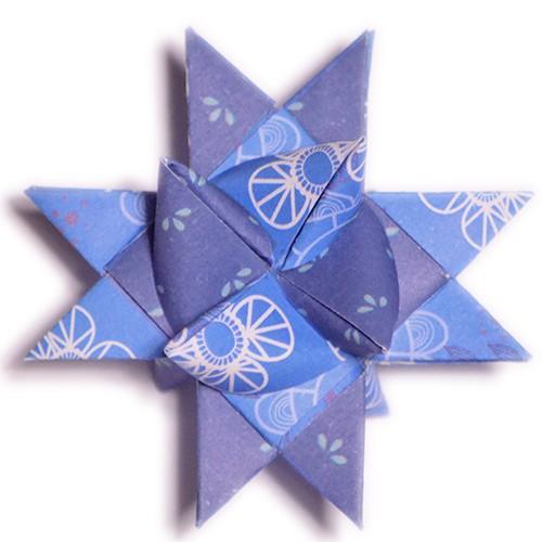 10 mm Faltstreifen Dooblu Blau
