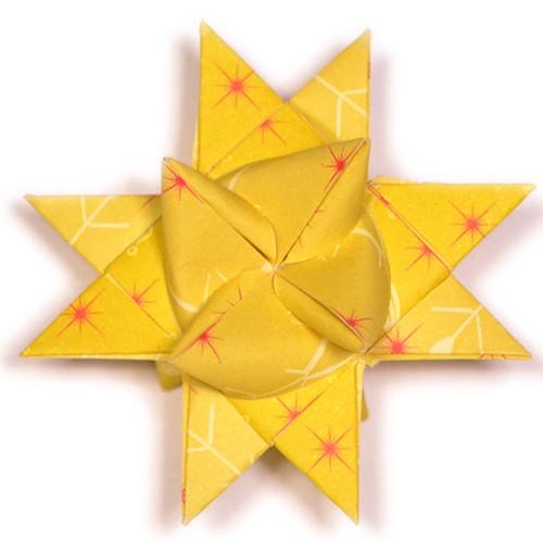 10 mm Faltstreifen Eisig Gelb2