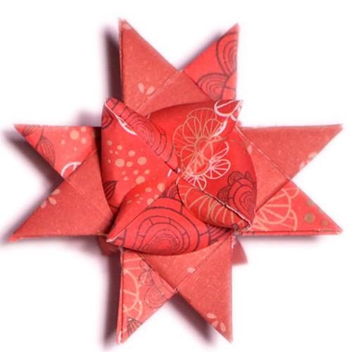 10 mm Papierstreifen Dooblu Rot